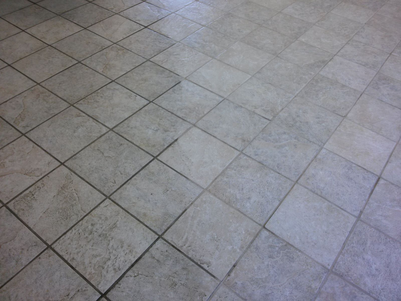 Our Tile And Grout Cleaning In Belleville IL Will Bring Back The Shine - Cleaning very dirty tile floors